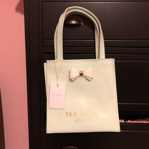 NWT Ted Baker pastel tote bag
